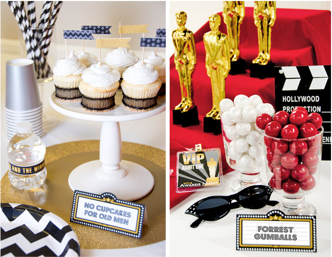 fun oscars party printables party games and diy ideas guest
