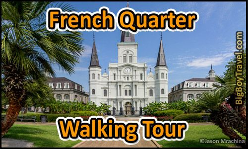 graphic relating to Printable Walking Map of New Orleans referred to as Our free of charge French Quarter going for walks excursion map in just Clean Orleans
