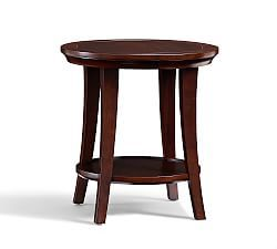 Glass End Tables Small End Tables Small Side Tables Pottery - Pottery barn round side table