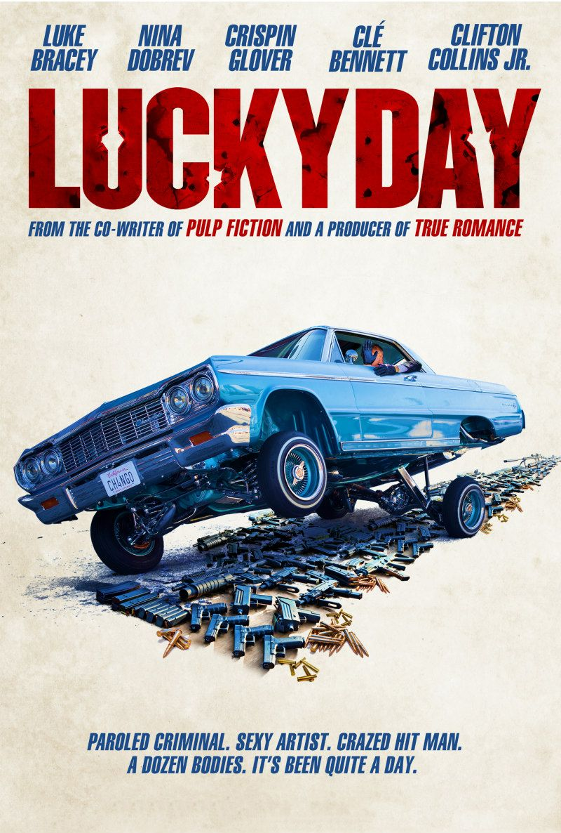 Lucky Day Bande Annonce Vf : lucky, bande, annonce, Dobrev, Stars, Roger, Avary's, LUCKY, [Trailer/Poster], Http://www.themoviewaffler.com/2019/08/nina-dobrev-lucky-…, Film,, Films, Complets,, Braquage, Banque