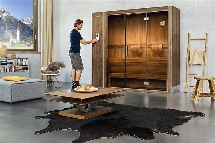 klafs s1 discover the sauna from has price