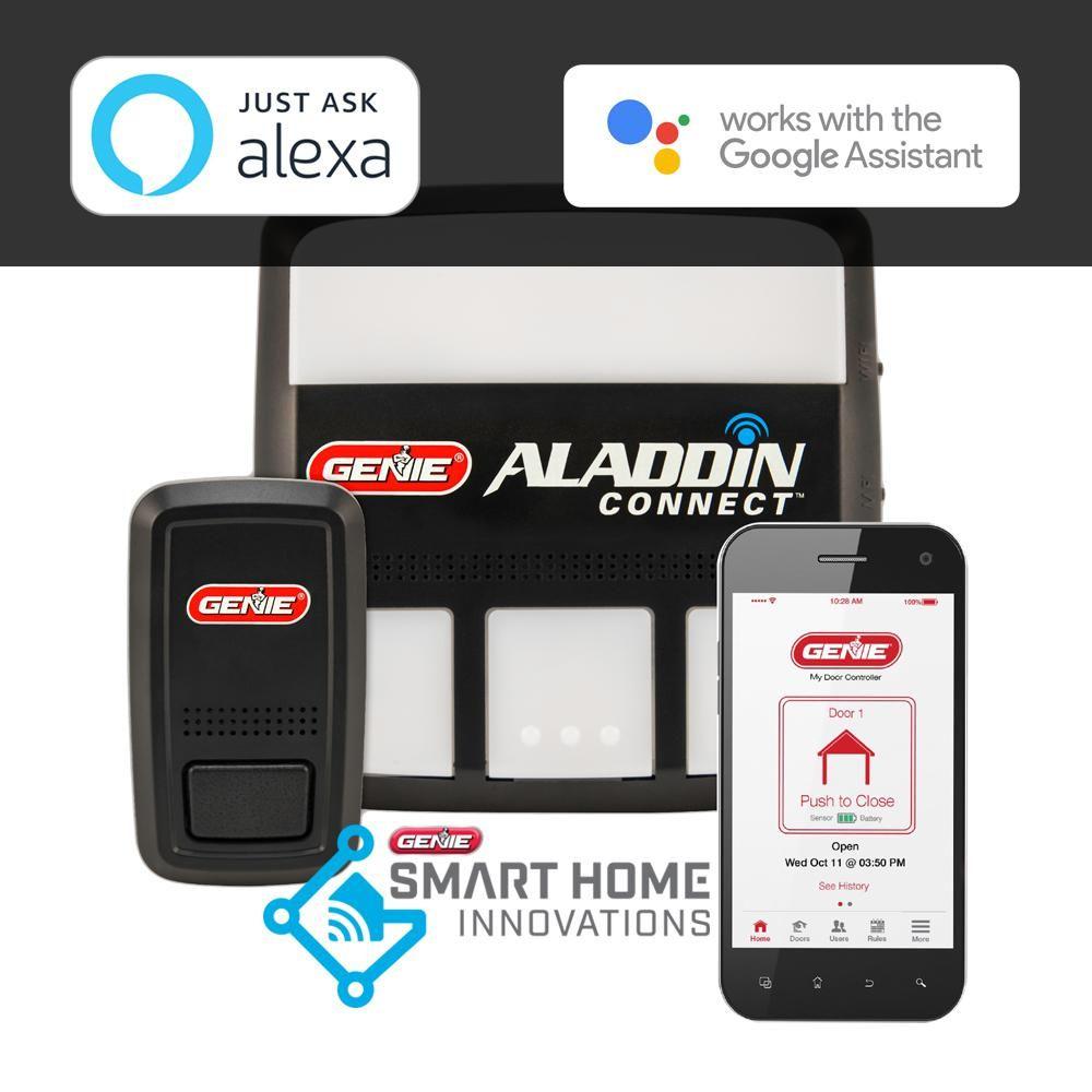 Genie Aladdin Connect SmartphoneEnabled Garage Door