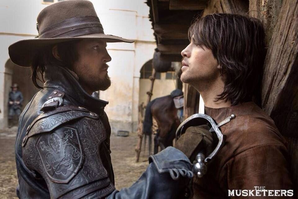 Athos and d'artagnan