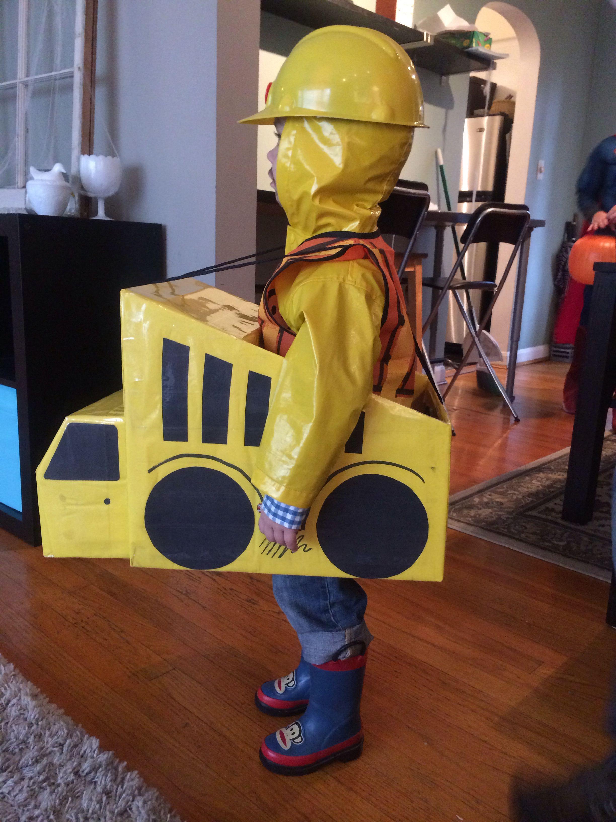 Construction Worker/Dump Truck Halloween Costume. | DIY kiddo ...
