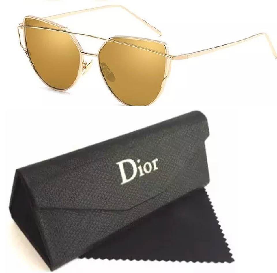 9078011d199eb Venha compra Replica de Óculos de sol Dior estilo Gatinho barato modelos  feminino.