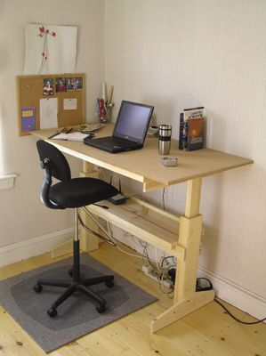 Building Your Own Diy Laptop Desk For A Central Office Can Offer