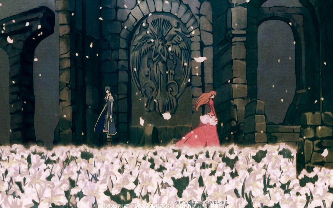 Anime wallpapers romeo x juliet you raise me up 1280