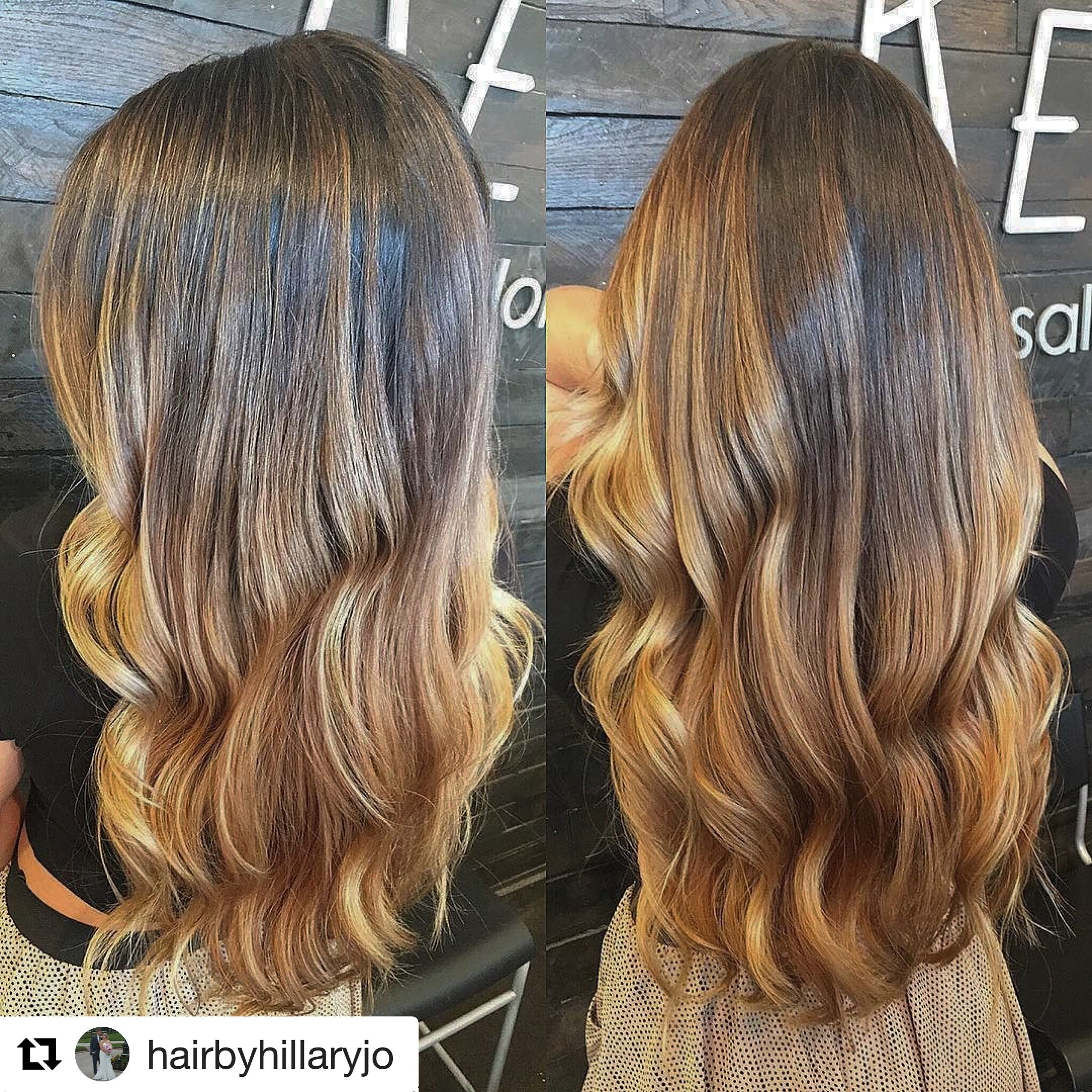 Long Hair Balayage Done By Our Talented Hillary Reveal Salon And Spa Omaha Ne Balayage Hair Long Hair Styles Hair