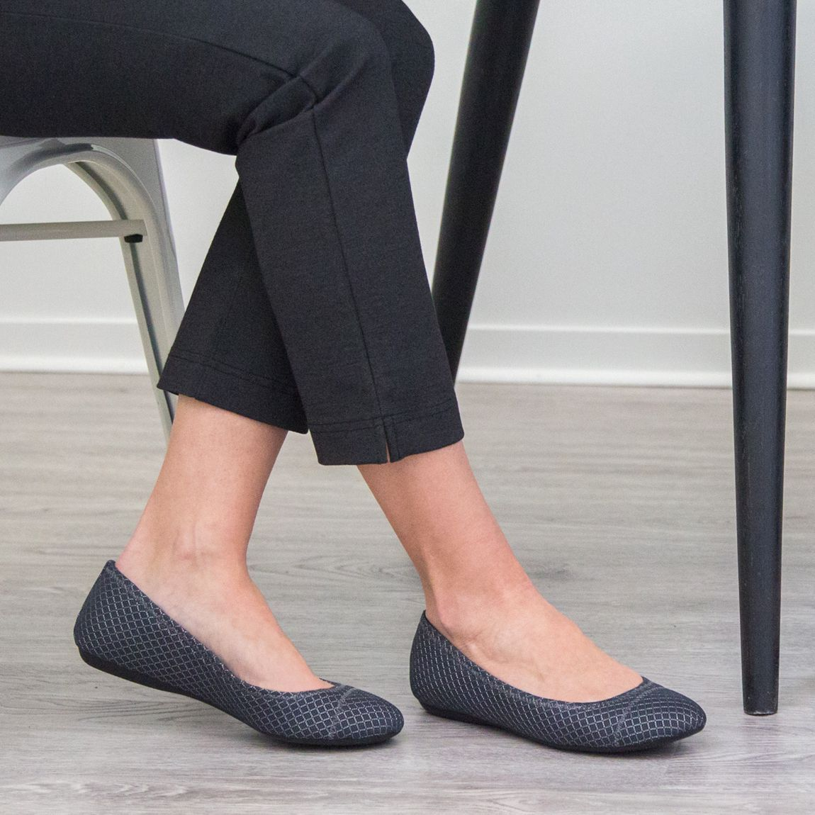 Athletic-Inspired Ballet Flats
