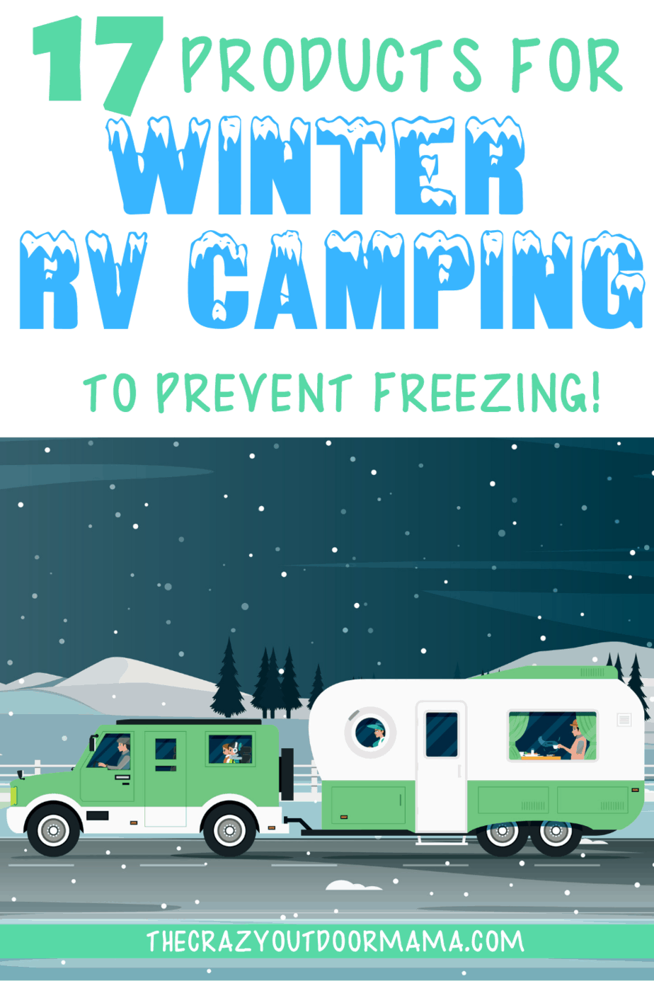 17 Essential Products To Winter RV Living (without freezing!) – The Crazy Outdoor Mama -  Check o
