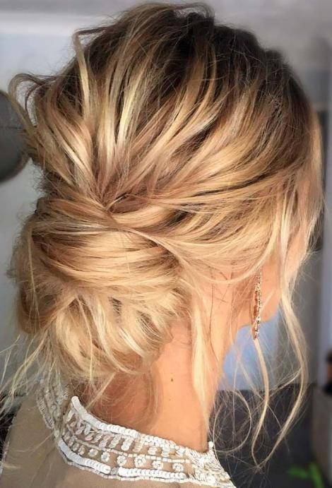 Los peinados más bonitos para brillar en Nochevieja – Recogido bajo