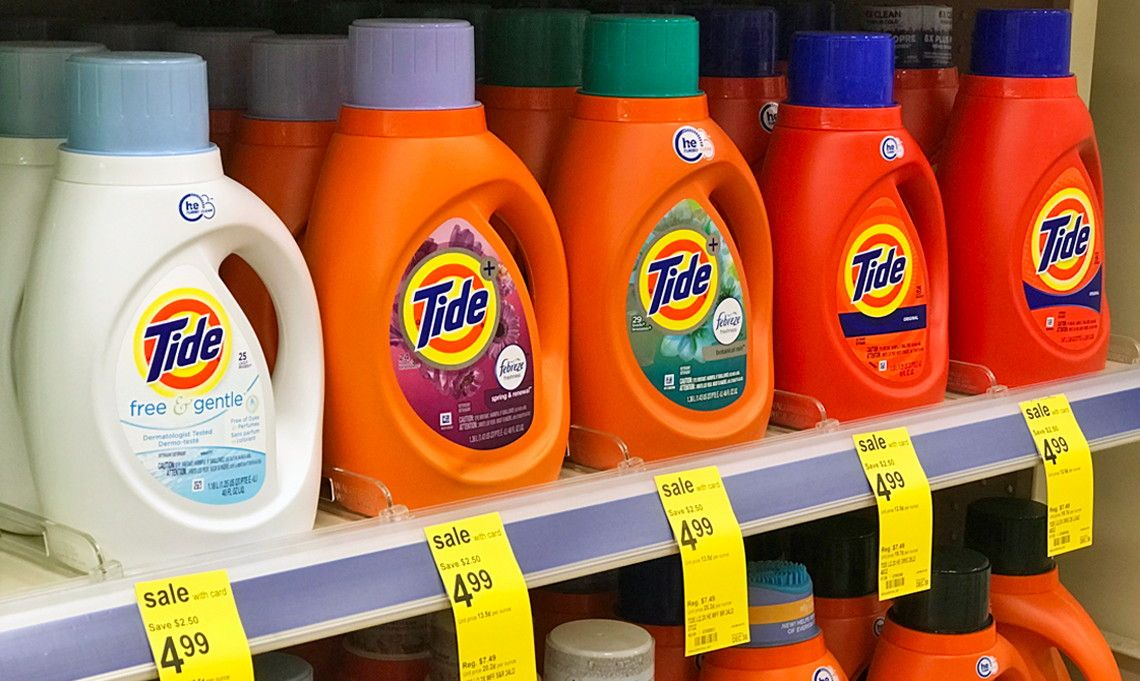 Tide Laundry Detergent Only 2 99 At Walgreens Tide With Downy