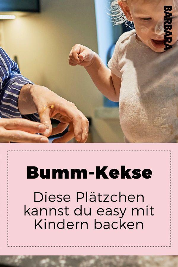 Bumm-Kekse: Diese Plätzchen kannst du easy mit Kleinkind backen