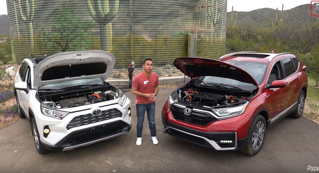 Can Honda's 2020 CRV Hybrid Beat Toyota's 2020 RAV4