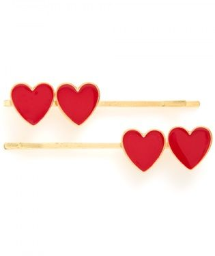 Let's have a heart-to-heart | Ban.Do hairpins