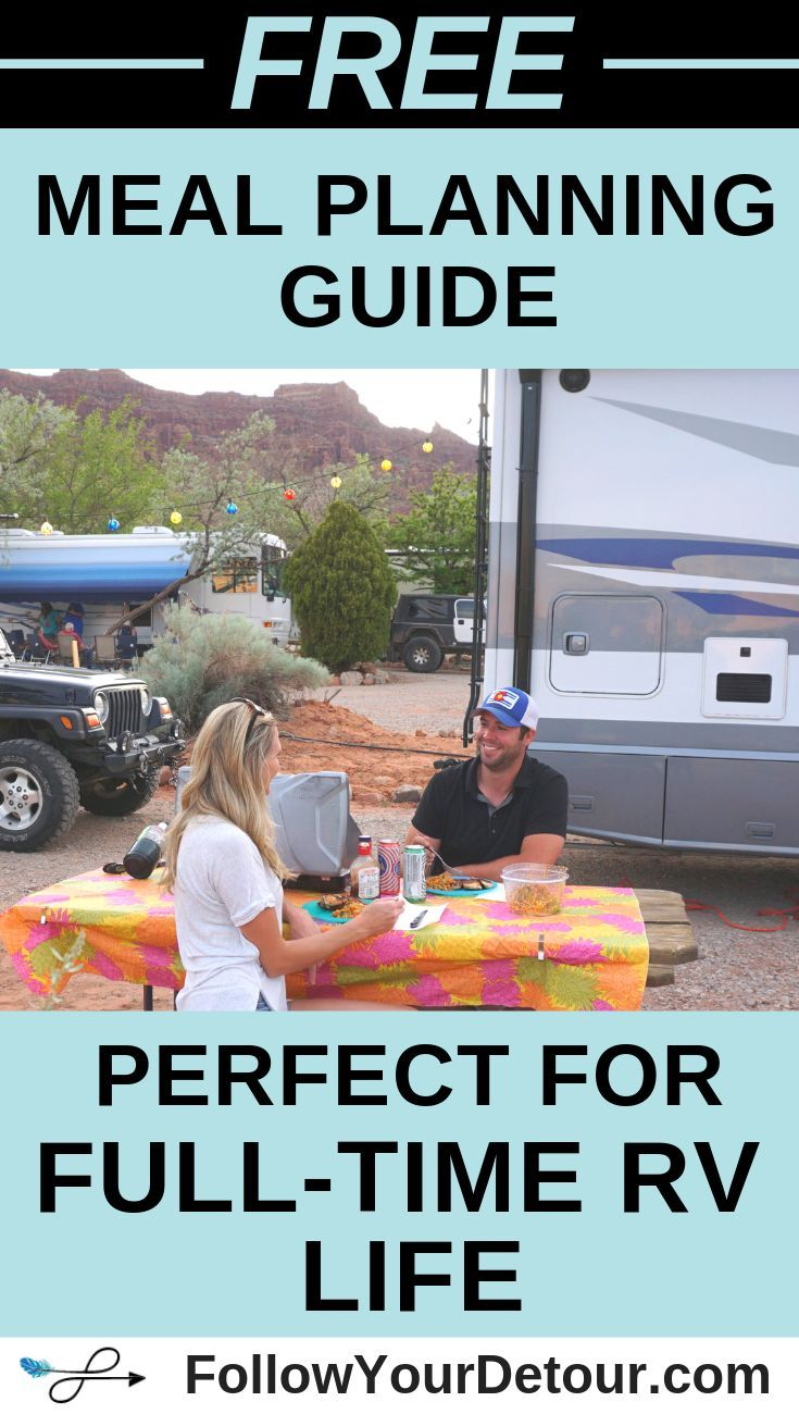 Trying to eat healthy while living full-time on the road in your RV or van? We're here to help with...