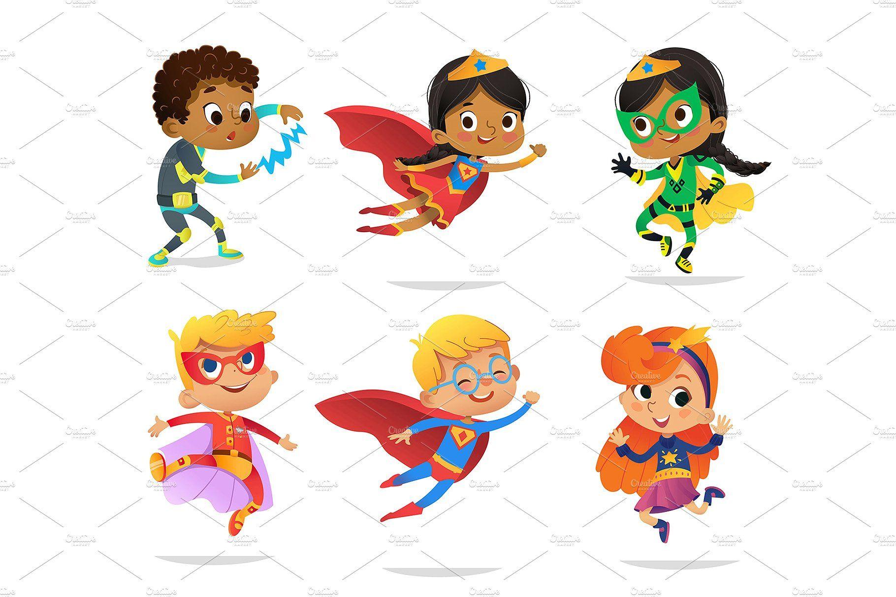 Cute Super Hero Kids Clipart Kids Clipart Clip Art Kids Hero