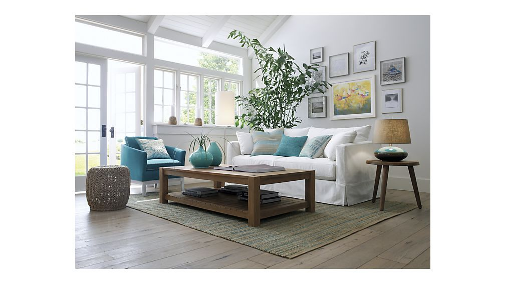 Willow Modern Slipcovered Sofa Northfork Sofa