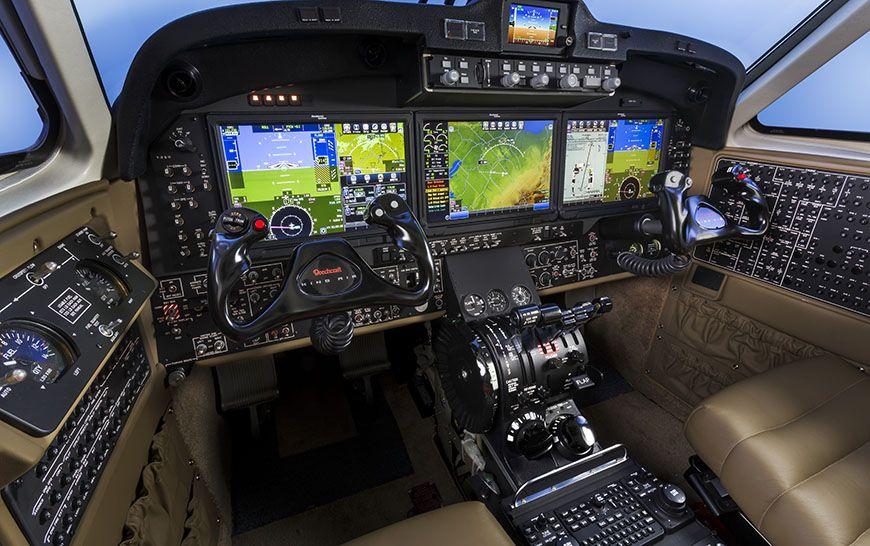 Beechcraft King Air 350i Car Interior Design Luxury
