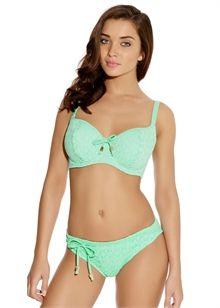 Freya Swimwear Sunset Boulevard Banded Halter Bikini Top Calendula 3580