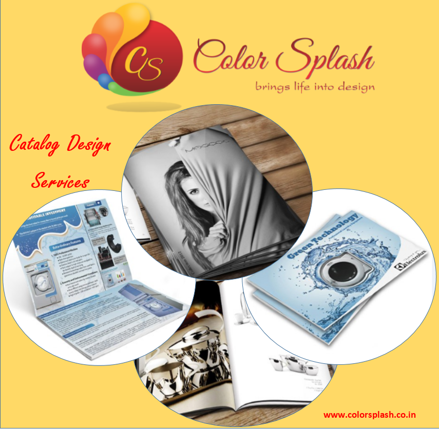 #CatalogueDesigning Services with #ColorSplash to ensure the better business presence in front of aspiring customers.