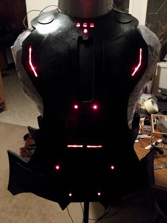 Powered up! LED strip and single lights  | cosplay rinzler | Cosplay