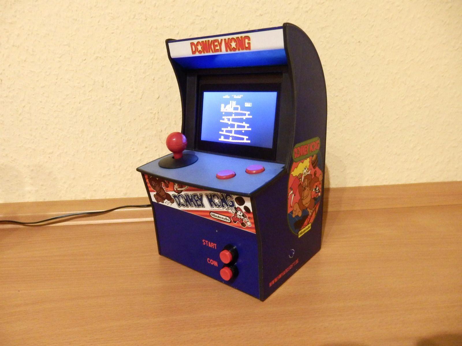Raspberry Pi Mini Arcade With 4 3 Inch Tft And Donkey Kong