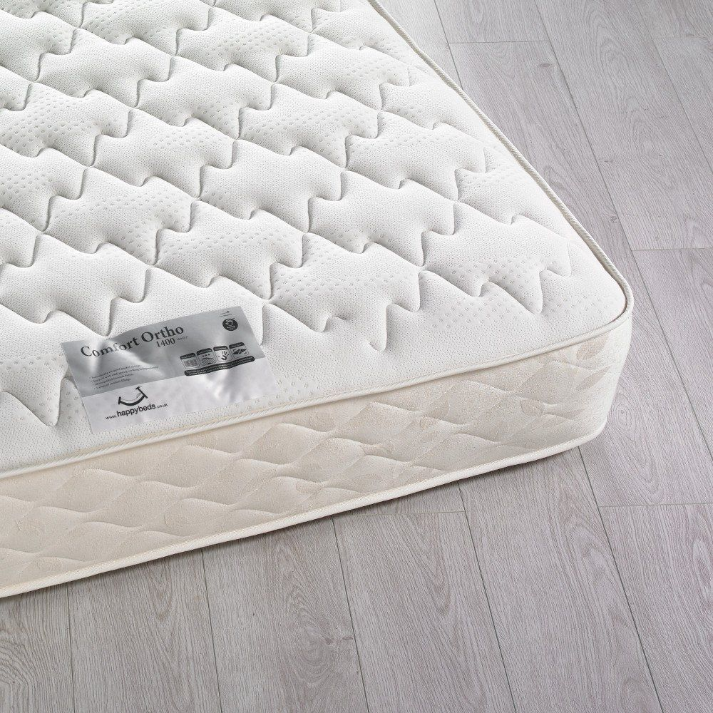 Comfort Ortho 1400 Pocket Sprung Mattress 6ft Super King Size 180