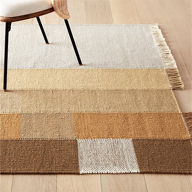 Pigment Color Block Rug Cb2 For Living Room With Rug Pad Underneath Probably Need An 8 X 10 Rugs On Carpet Modern Area Rugs Rugs