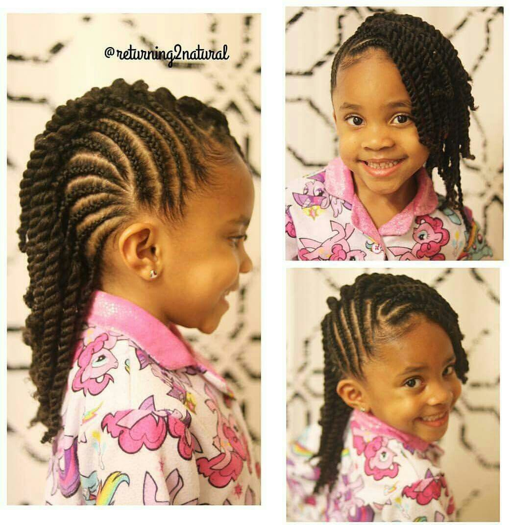 Black Little Girls Hairstyles Delectable Pincharlisa Carter On Hair  Pinterest  Girl Hairstyles Black