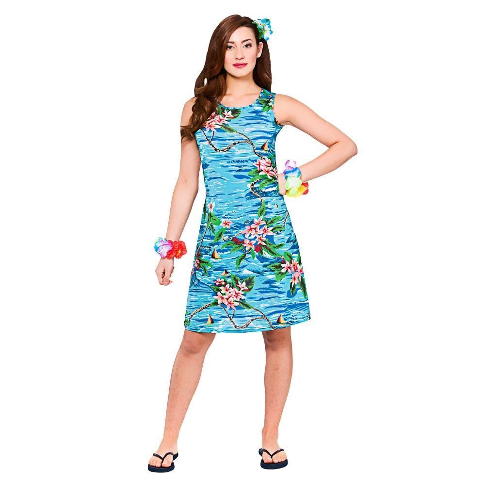 Hawaii Dress Orchid Ocean #Hawaiian #Costume #Adult #Women #me ...
