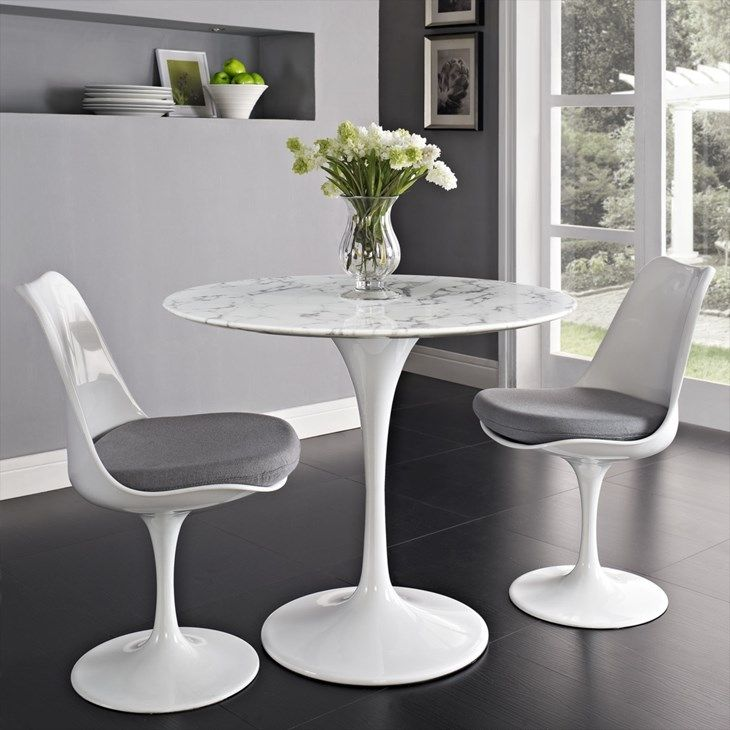 lippa 36   round artificial marble dining table in white   lexmod lippa 36   round artificial marble dining table in white   lexmod      rh   pinterest com