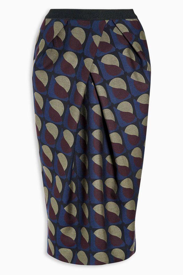 next mantel mit stehkragen - Jacquard Muster