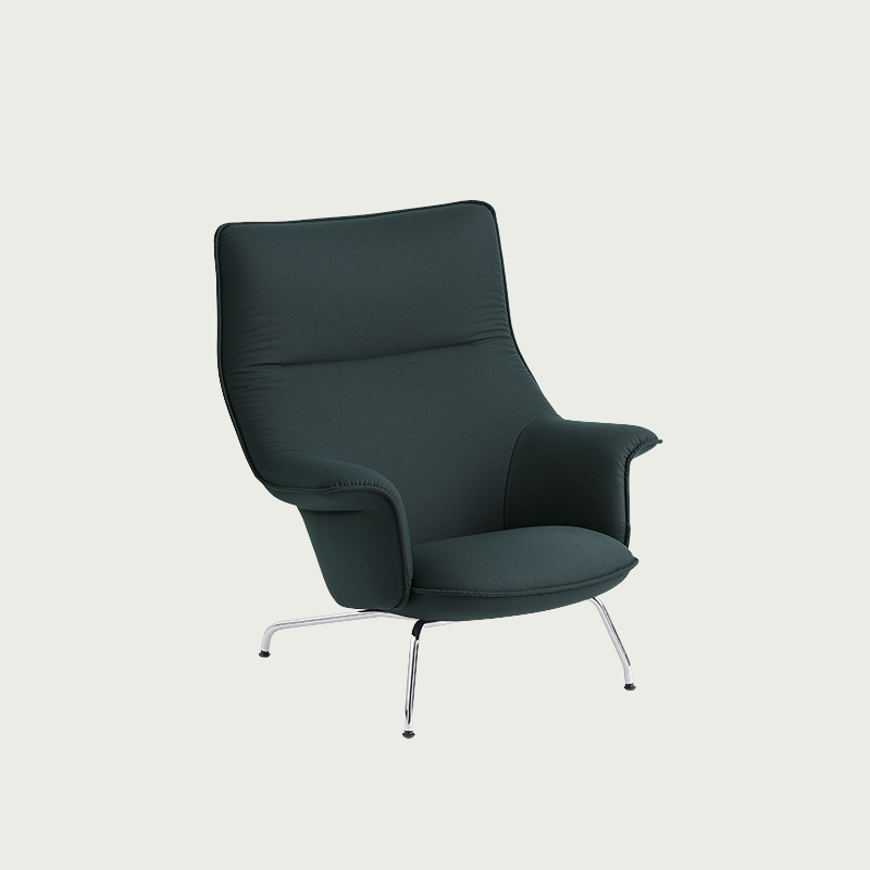 Designed With Extensive Comfort And A Modern Expression Through The Vibrant Lines And Folds Of Its Back In 2020 Scandinavian Sofa Design Lounge Chair Chair And Ottoman