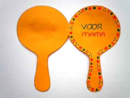 spiegel knutselen voor moederdag knutselen voor