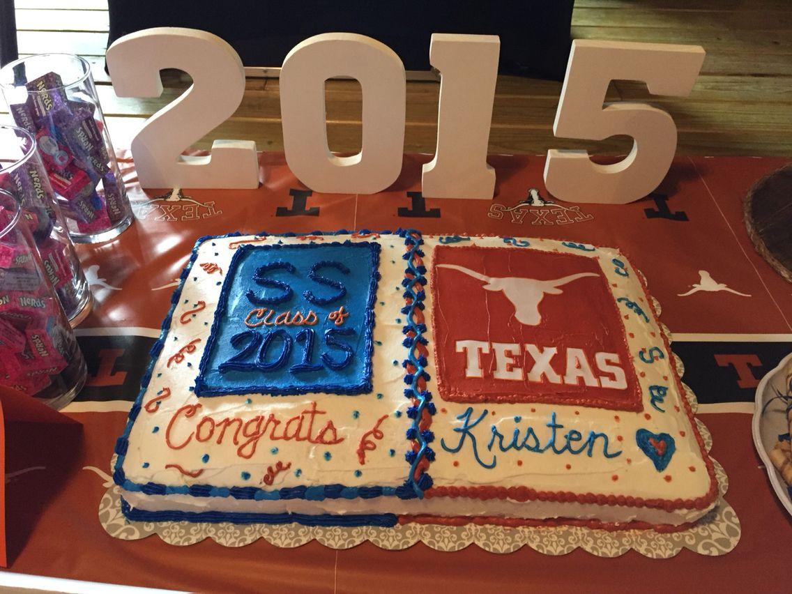 High school graduation to college cake Grad party Pinterest