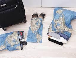 Resultado de imagen de travel map laundry bag