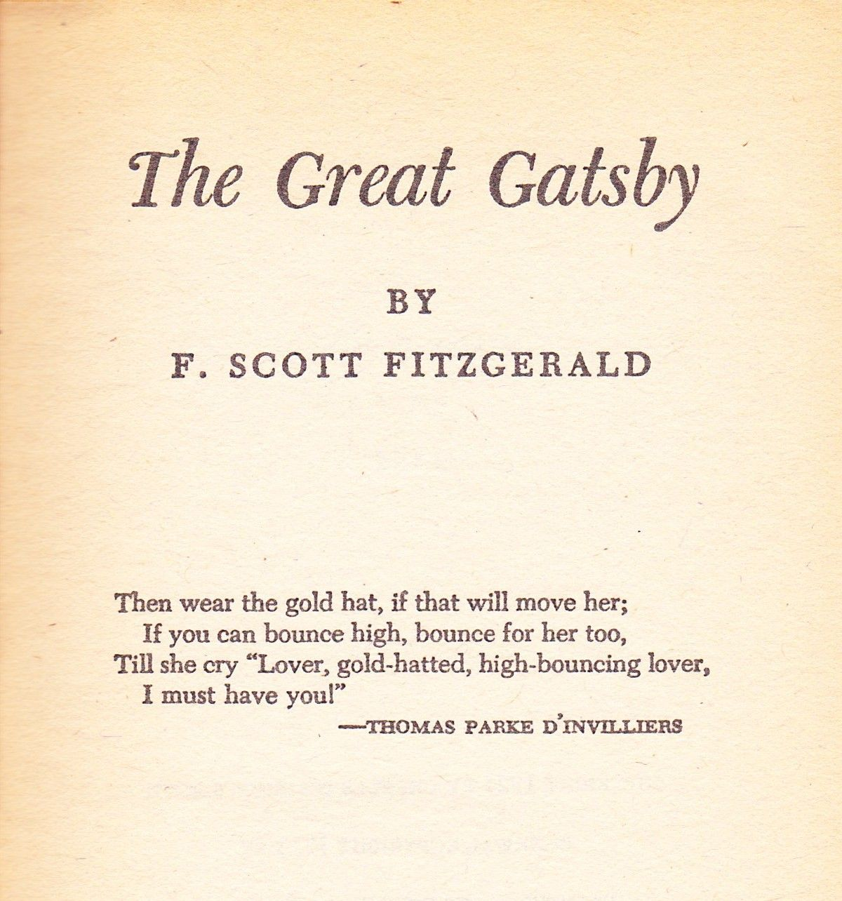 f scott fitzgerald and love Elaine showalter on the sordid power struggles behind the decline of the jazz age's golden couple, zelda and f scott fitzgerald.