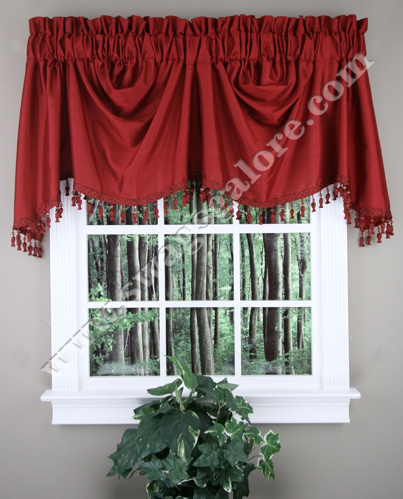 Anna curtain collection is a luxurious faux silk panels are lined
