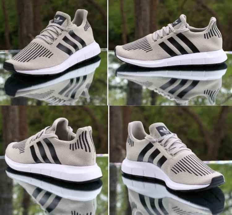 Adidas Swift Run Sesame Core Black White CG4114 Men s Running Shoes Size  9.5  adidas  RunningCrossTraining 60c7ed1e5