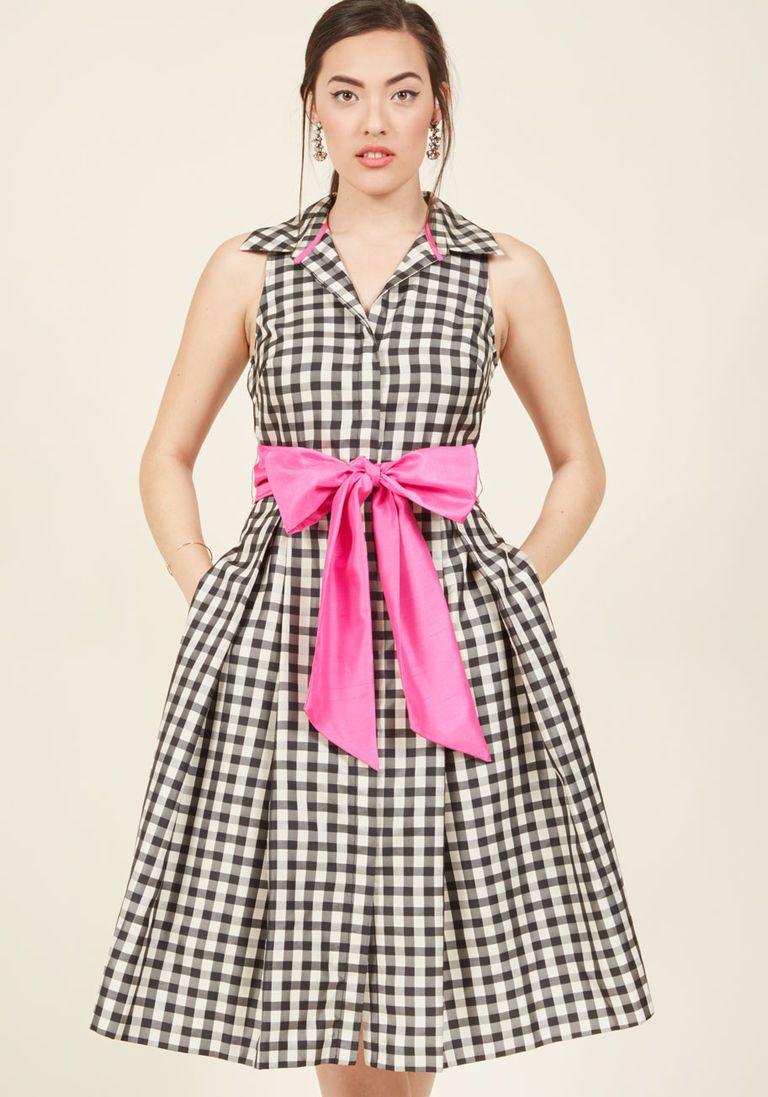 Eliza J Classy With a Kick Shirt Dress | ModCloth, Ropa y Vestidos ...