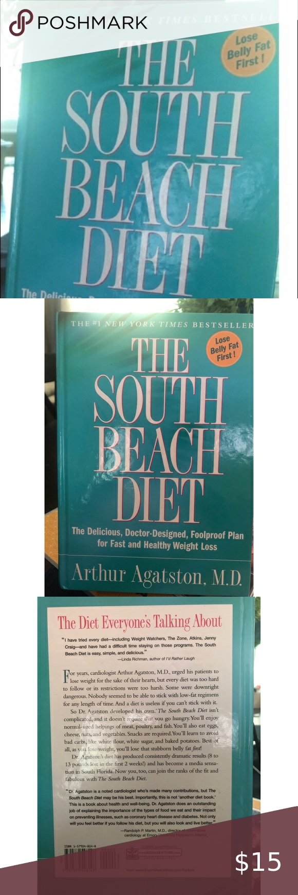 South Beach Diet Book South Beach Diet South Beach Diet Book Diet Books