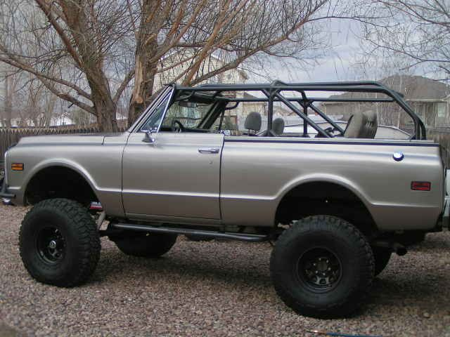 Wanted Pics Of Your Full Convertable Blazer Roll Cage Pirate4x4