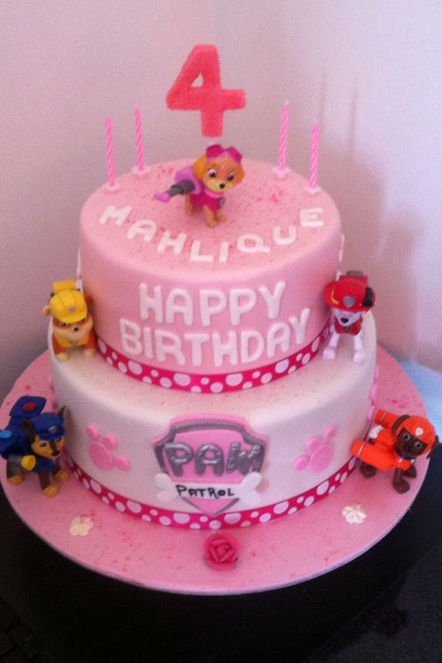 Paw Patrol Cake For Girls Cake Ideas Paw Patrol