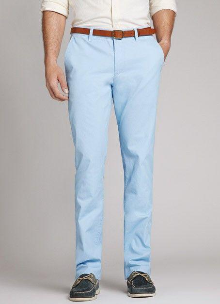 39c7779d8 Bonobos Skyrockets in Blue for Men (powder) | Lyst Blue Pants Men, Mens