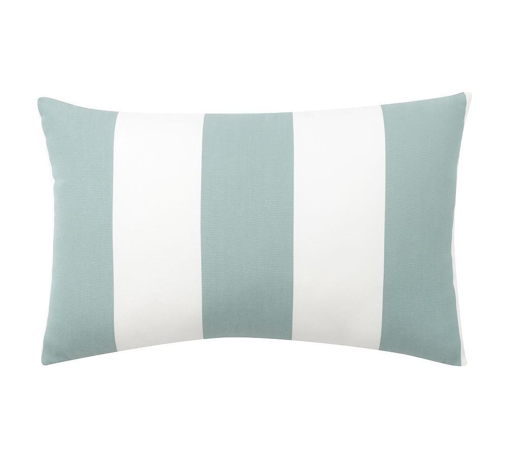 Sunbrella Awning Striped Indoor Outdoor Pillows Fabric Awning Pillows Sunbrella Pillows