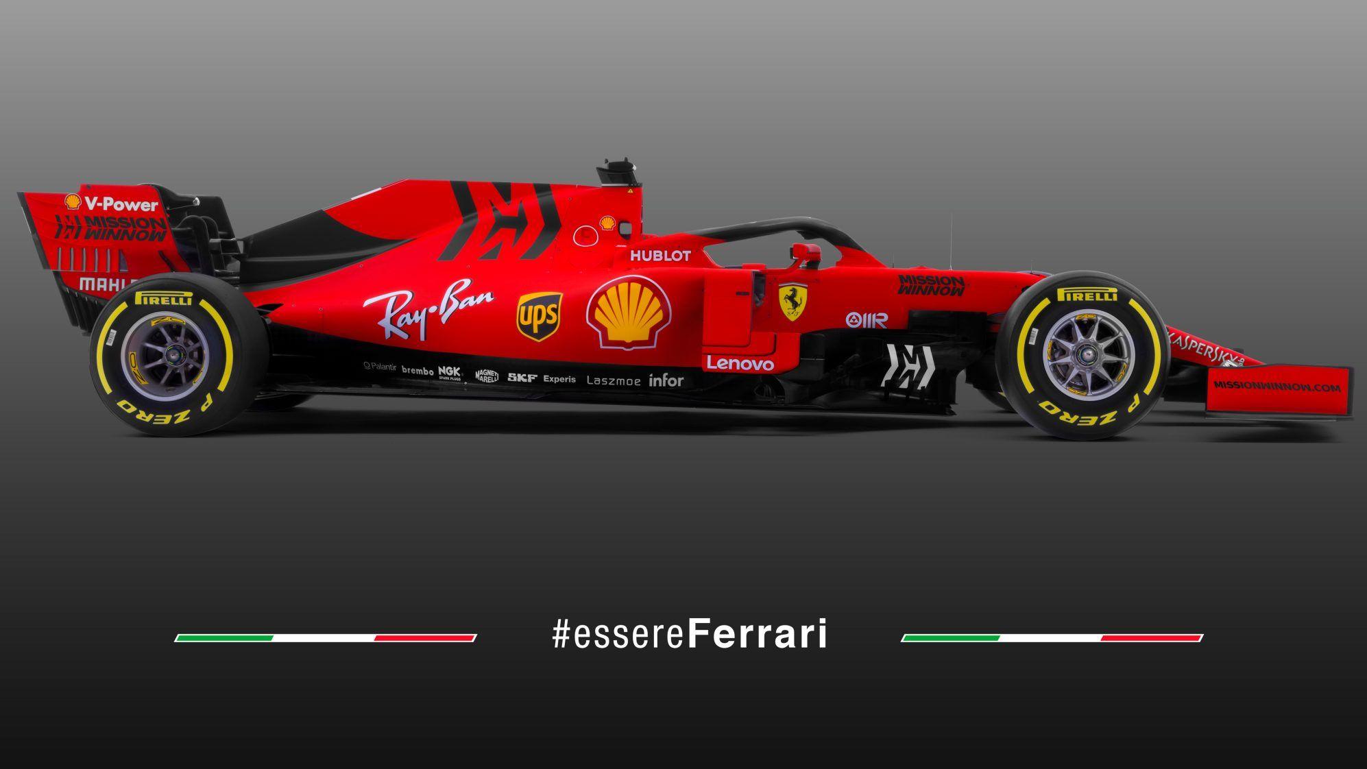 Ferrari Sf90  All The Angles Of The 2019 F1 Car