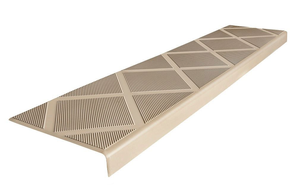 Best Composite Anti Slip Stair Tread 48 Inch Beige Step Cover 400 x 300