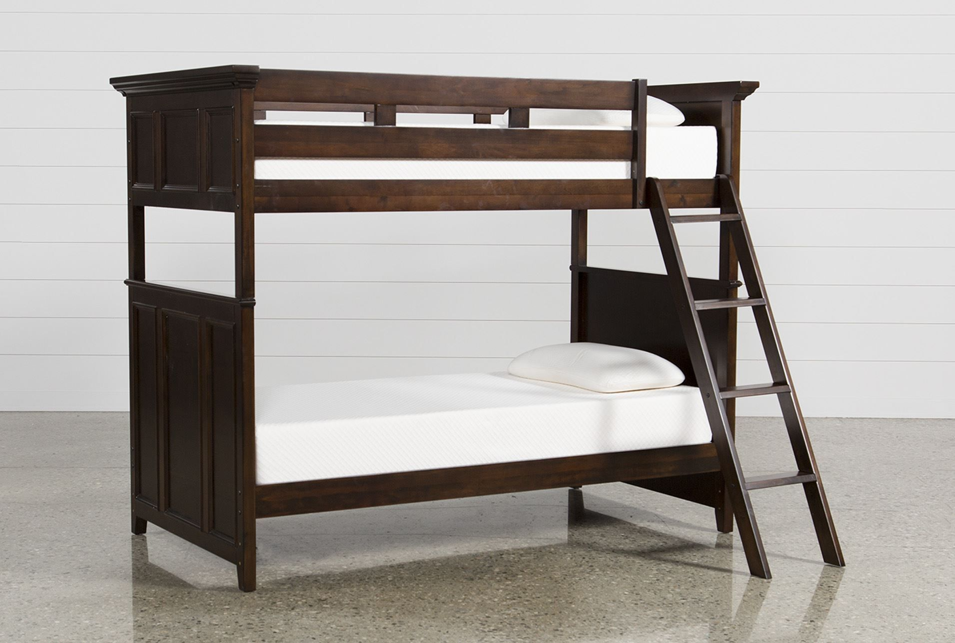 Twin Over Twin Bunk Bed, Dalton, Sable