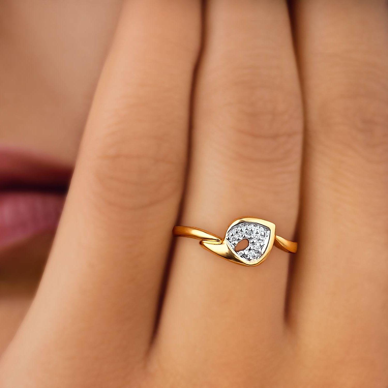Tanishq Diamond Ring For Engagement